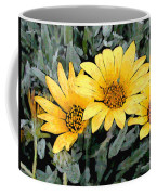 Yellow Gazanias Coffee Mug