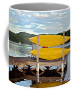 Yellow Kayaks Coffee Mug