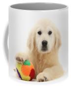 Yellow Labrador Retriever Pup Coffee Mug