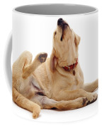 Yellow Labrador Scratching Coffee Mug