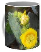 Yellow Lace Unveiled Coffee Mug