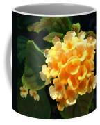 Yellow Lantana Coffee Mug