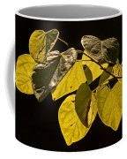 Yellow Leaves On A Tree Branch Coffee Mug