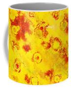 Yellow Mud Bubbles Coffee Mug