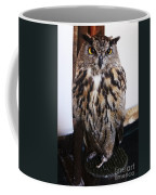 Yellow Owl Eyes Coffee Mug