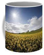 Yellow Rapeseed Field, Newgrange Coffee Mug