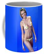 Yellow Swim 13-crop Coffee Mug