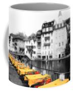 Yellow Tablecloths Coffee Mug