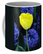 Yellow Tulip And Hyacinth Coffee Mug