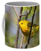 Yellow Warbler II Coffee Mug