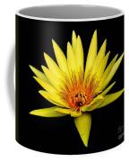 Yellow Water Lily Coffee Mug by Nick Zelinsky