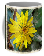 Yellow Wildflower Coffee Mug