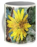 Yellow Wildflower Photoart Coffee Mug