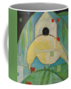 Yellowbird Whitehouse Coffee Mug