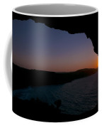 Yes It's Summer.  Sunset Over Ramla Bay Coffee Mug