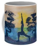 Yoga High Lunge Pose  Coffee Mug