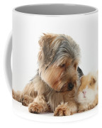 Yorkshire Terrier Dog And Guinea Pig Coffee Mug