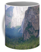 Yosemite Bridal Veil Fall Coffee Mug