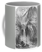 Yosemite Falls, 1874 Coffee Mug