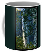 Yosemite Falls Through Trees Coffee Mug