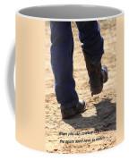 Young Cowboy With Spurs Coffee Mug