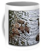 Young Geese Coffee Mug
