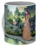 Young Girl In A Garden  Coffee Mug