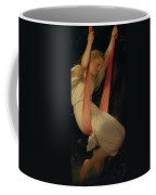 Young Girl On A Swing Coffee Mug by Hippolyte Delaroche