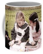Young Girls Doodling Coffee Mug