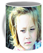 Young Girl's Expression Coffee Mug