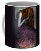 Young Lady Crying Coffee Mug