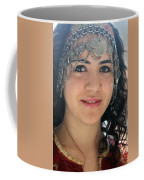 Young Palestinian In Traditional Dress In Bethlehem Coffee Mug