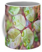 Young Rose Leaves Coffee Mug
