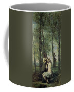 Young Woman At Her Toilet Coffee Mug