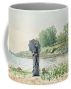 Young Woman Coffee Mug by Winslow Homer