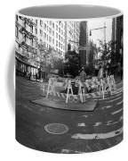 Your Tax Dollars At Work In Black And White Coffee Mug
