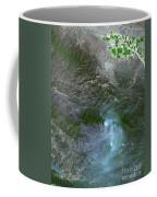 Zaca Fire In Southern California Coffee Mug