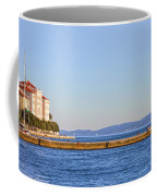 Zadar Pier On The Adriatic Sea Coffee Mug