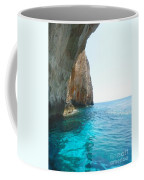 Zakynthos Blue Caves Coffee Mug
