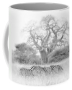 Zebra And Tree Coffee Mug