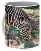 Zebra At Lunch Coffee Mug