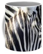 Zebra Face  Coffee Mug