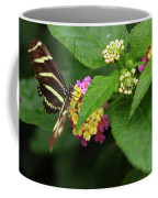 Zebra Longwing Coffee Mug