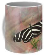 Zebra Longwing Butterfly-3 Coffee Mug