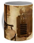 Zenith Consol Radio 1940's  Coffee Mug by Paul Ward