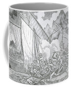 Zheng Yis Pirates Capture John Turner Coffee Mug by Photo Researchers