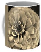 Zinna In Sepia Coffee Mug