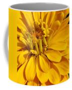 Zinnia Close Up Coffee Mug