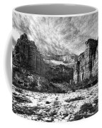 Zion Canyon - Bw Coffee Mug
