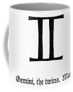 Zodiac: Gemini Coffee Mug